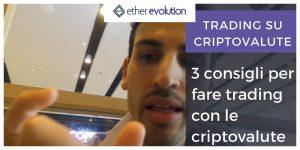 come fare trading criptovalute