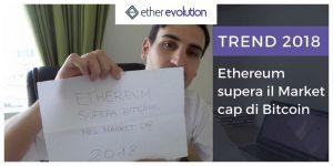 Ethereum supera market cap bitcoin