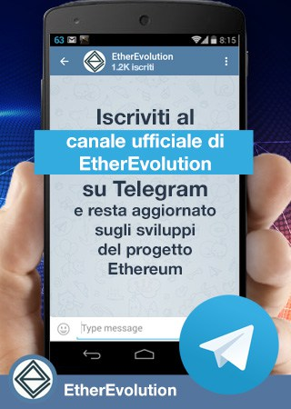Canale Telegram EtherEvolution
