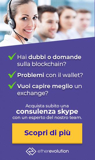 banner consulenza blockchain etherevolution